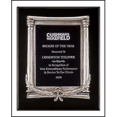 P3932 Black Stained Piano Finish Plaque